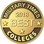 2018 Military Times Best Award Badge